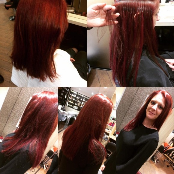 Extensions s minaire hairdreams zalla cr ations for Salon de coiffure extension
